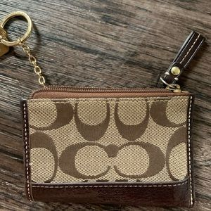 Authentic COACH card/ID/key holder